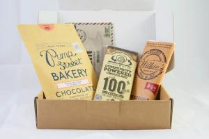 Chocolate subscription box dark