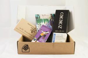 Milk chocolate subscription box