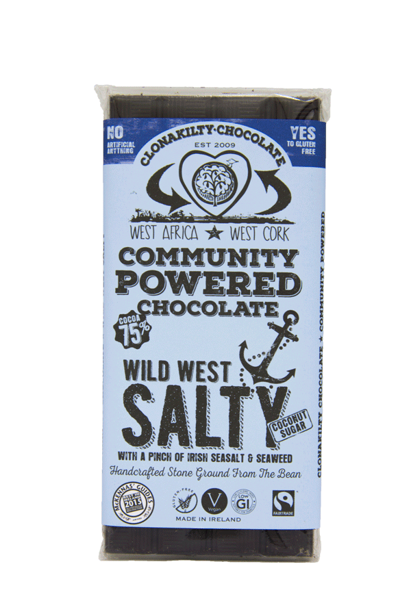 Clonakilty Chocolate - Salty