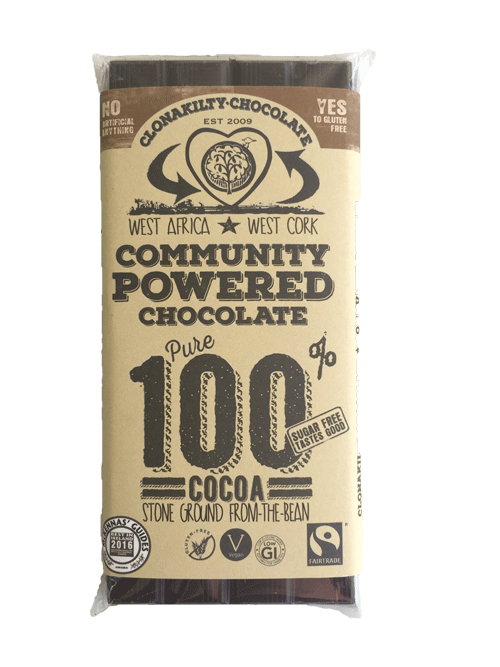 Clonakilty Chocolate - 100% Pure Cocoa