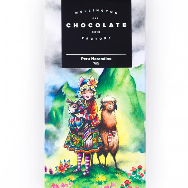 Wellington Chocolate Factory 70% Peru