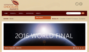 International Chocolate Awards - 2016 World Final