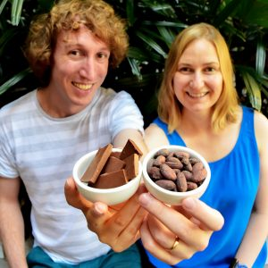 Alison and Chris - Bean Bar You founders