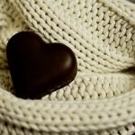 Chocolate love heart - ideas for romantic date night options