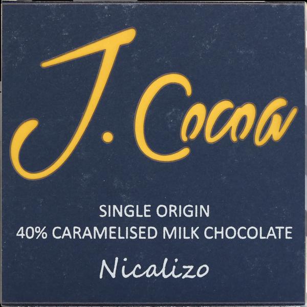 JCocoa - Nicalizo (caramalised milk)
