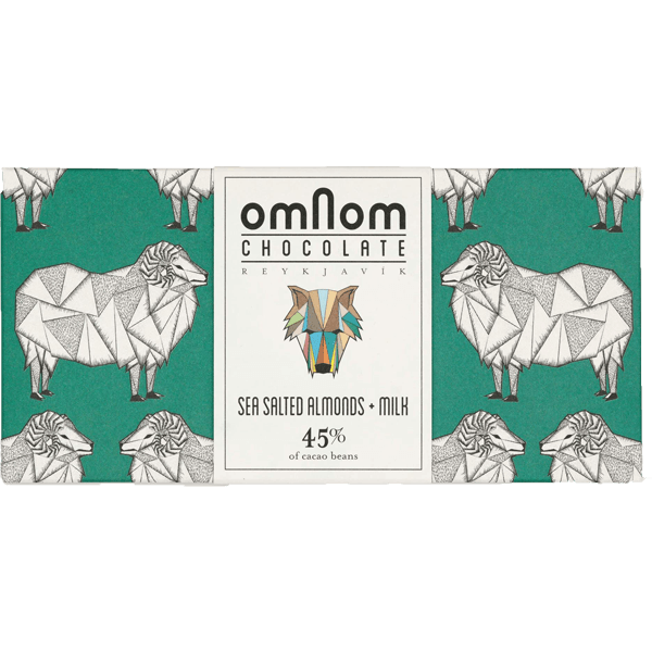 Omnom - Seasalted almonds milk