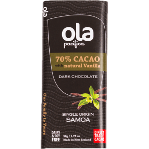 Ola Pacifica - 70% Cacao with natural Vanilla