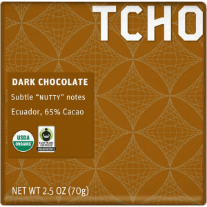 TCHO - Dark Chocolate (Ecuador)
