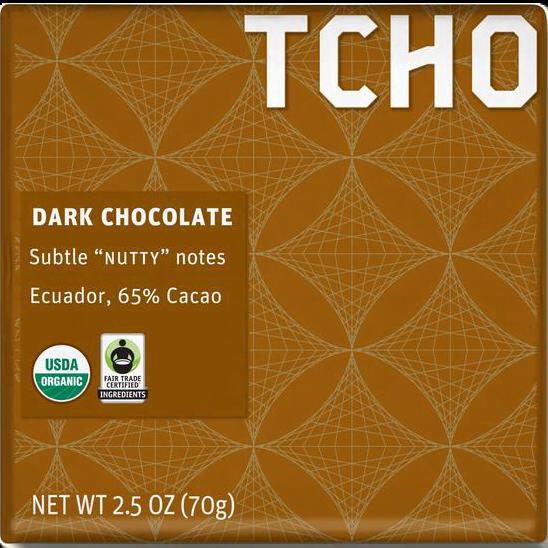 TCHO - Dark Chocolate (Ecuador)