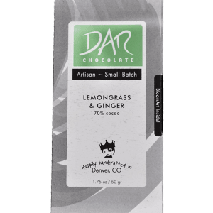 Dar Chocolate - Lemongrass & Ginger