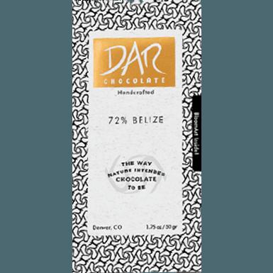 Dar Chocolate - Belize 72%