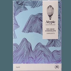Atypic - Vanuatu Milk Chocolate 55%