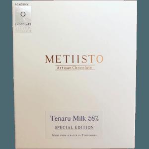 Metiisto - Tenaru Milk 58%