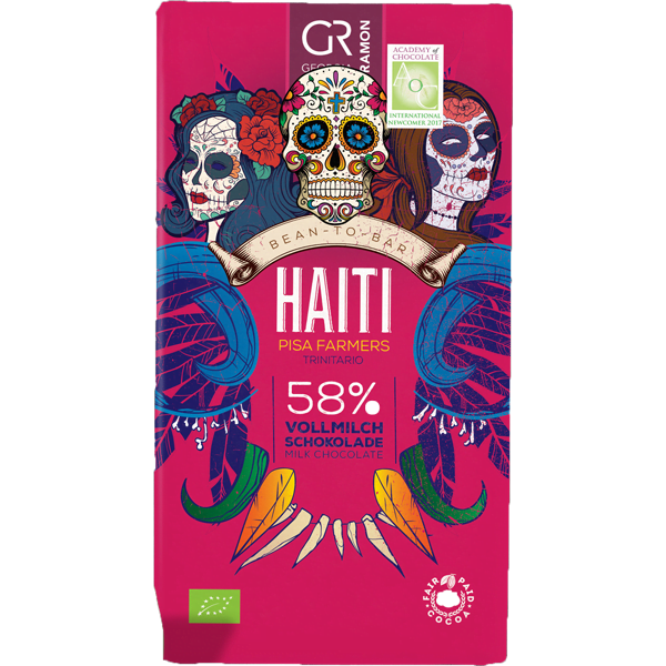Georgia Ramon - Haiti 58% Milk