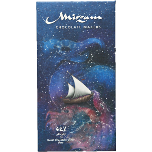Mirzam - 62% Dark Chocolate with Rose