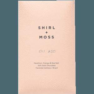 Shirl + Moss - Hazelnut, Orange and Sea Salt