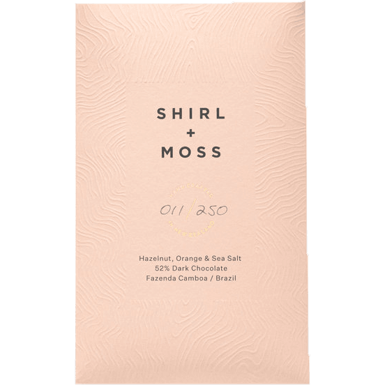 Shirl + Moss - Hazelnut, Orange and Sea Salt