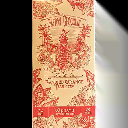 Gaston - Candied Orange Dark 70%