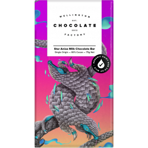 Wellington Chocolate Factory - Star Anise Milk Chocolate Bar