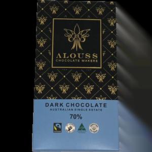 Alouss - Dark chocolate single estate 70%