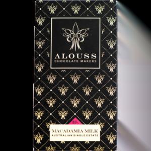 Alouss - Macadamia milk chocolate
