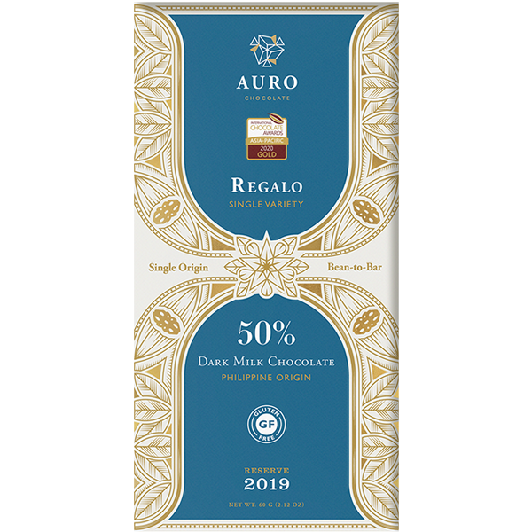 Auro Chocolate - Regalo 50% milk chocolate