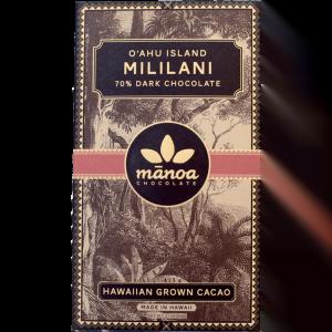 Manoa Chocolate - Mililani Estate 70% Dark